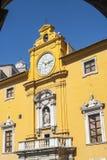Fermo - historisches Gebäude Stockbild