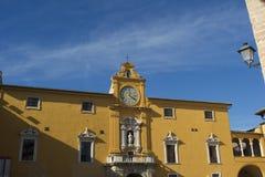 Fermo Marche Ιταλία Στοκ φωτογραφία με δικαίωμα ελεύθερης χρήσης
