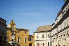 Fermo Marche Italy Stock Image