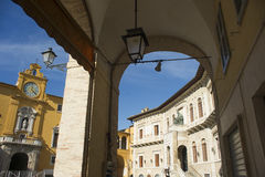 Fermo Marche Italy Stock Photography