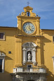 Fermo Marche Italy. Ancient city of Fermo in the Marche Italy`s main square Royalty Free Stock Images