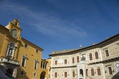 Fermo Marche Italy Royalty Free Stock Photo