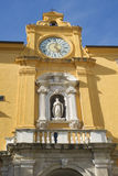 Fermo Marche Italy. Ancient city of Fermo in the Marche Italy`s main square Stock Photos