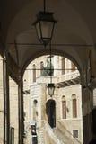 Fermo Marken Italien Stockfoto