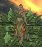 Fern Fae Stock Photo