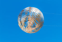 Fern globe, Civic Centre, Wellington, North Island Royalty Free Stock Photography