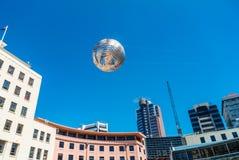 Fern globe, Civic Square, Wellington, North Island Stock Photos