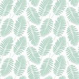 Fern leaf pattern. Vector illustration. Decor element Stock Image