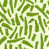 Fern Leaves Seamless Pattern Background Fotos de archivo