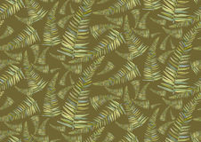 Fern pattern Stock Photo