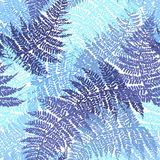 Fern seamless pattern. For textile, wallpaper, wrapping, web backgrounds and other pattern fills Stock Images
