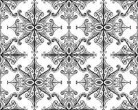 Fern seamless pattern1 Stock Photography