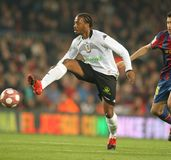 Fernandes of Valencia CF Royalty Free Stock Photography