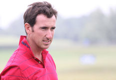 Fernandez castano at golf French Open 2010 Royalty Free Stock Photography