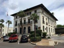 Fernandina邮局 免版税库存照片