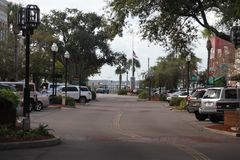 Fernandina Beach. Is a city in Nassau County, Florida, United States royalty free stock photography