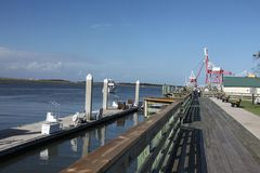 Fernandina Beach. Is a city in Nassau County, Florida, United States royalty free stock images