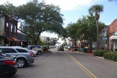 Fernandina Beach. Is a city in Nassau County, Florida, United States stock photography