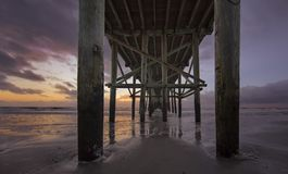 Free Fernandina Beach Pier Royalty Free Stock Images - 100357319