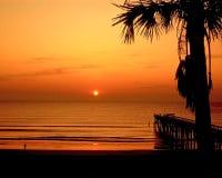Fernandina-Strand, Florida stockfotos