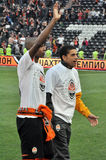 Fernandinho and Taison Stock Image