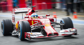 Fernando Alonso Foto de Stock Royalty Free