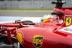 Fernando Alonso Photographie stock libre de droits