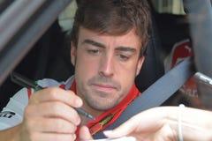 Fernando Alonso Fotografie Stock