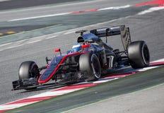 Fernando Alonso Fotografie Stock Libere da Diritti