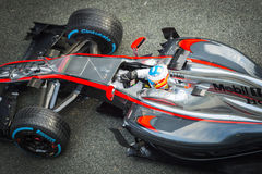 Fernando Alonso 2015 Royaltyfri Fotografi