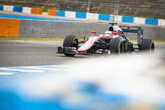 Fernando Alonso 2015 Arkivbilder