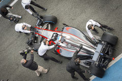Fernando Alonso 2015 Royaltyfria Bilder