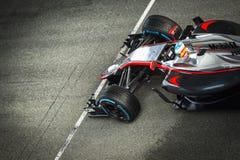 Fernando Alonso 2015 Royaltyfria Foton
