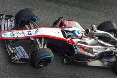 Fernando Alonso 2015 Fotografering för Bildbyråer