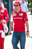 Fernando Alonso, conducteur de Ferrari Images stock