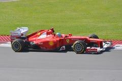 Fernando Alonso dans 2012 F1 Prix grand canadien Photos libres de droits