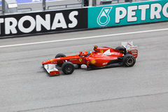 Fernando Alonso (equipe Ferrari) Fotos de Stock