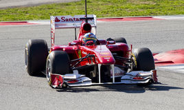 Fernando Alonso (Ferrari) Stock Photo