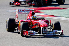 Fernando Alonso (Ferrari) Royalty Free Stock Images