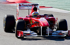 Fernando Alonso (Ferrari) Royalty Free Stock Photography