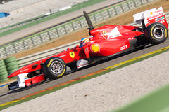 Fernando Alonso (Ferrari) Photographie stock libre de droits