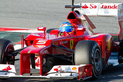 Fernando Alonso (Ferrari) Stock Photos
