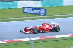 Fernando Alonso Ferrari Immagini Stock