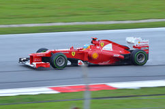 Fernando Alonso Ferrari Immagine Stock