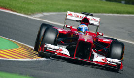 Fernando Alonso Ferrari Photos stock