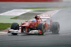 Fernando Alonso, Ferrari F1 Immagini Stock