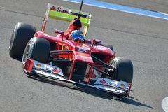 Fernando Alonso, Ferrari F2012 Stock Photo