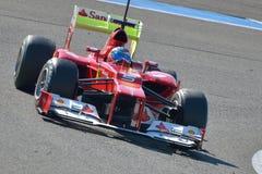 Fernando Alonso, Ferrari F2012 Foto de archivo