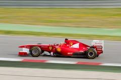 Fernando Alonso racing Stock Photography