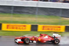 Fernando Alonso racing at Montreal Grand prix Stock Images